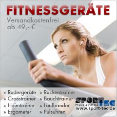 Fitnessgeräte bei Sport-Tec
