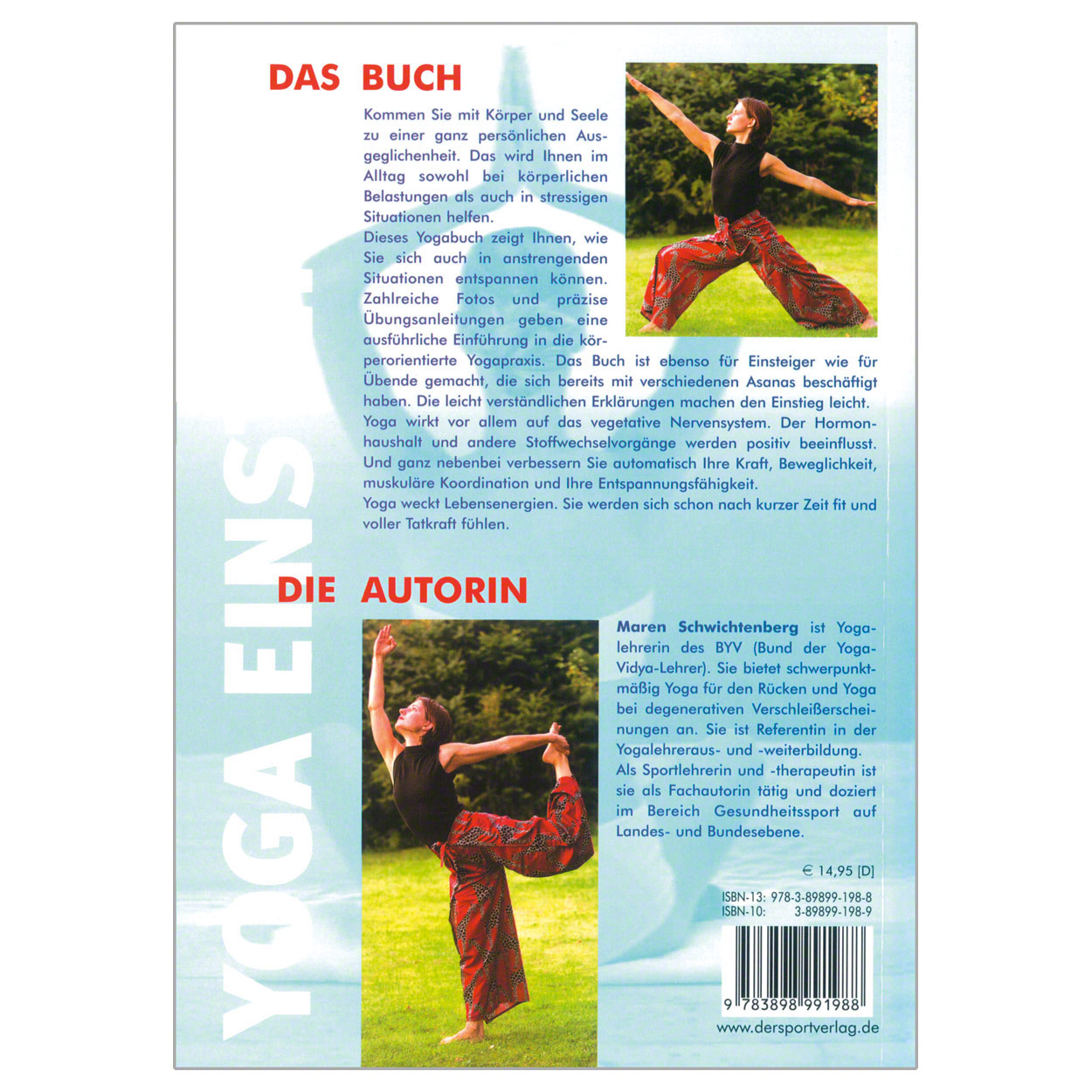 Gymnastik & Fitness: Buch Yoga für Einsteiger - You can do it, 168 Seiten