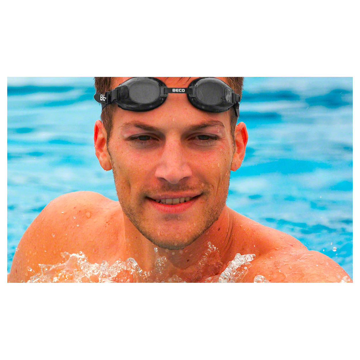Gymnastik & Fitness: BECO Universal-Schwimmbrille