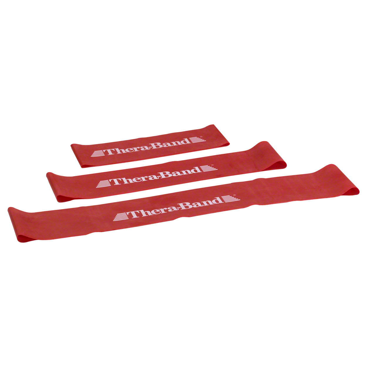 Kunden PH 2016: Thera-Band Loop, Ø 29 cm, 7,6x45,5 cm, mittel, rot