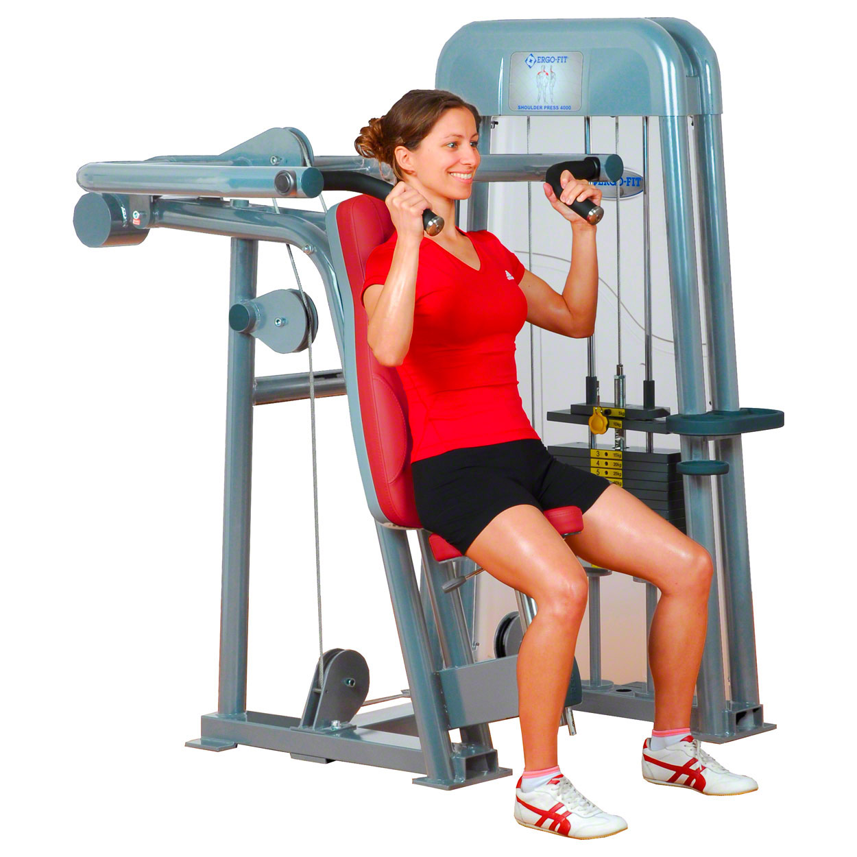 Kraftsportgeräte: ERGO-FIT Shoulder Press 4000 med