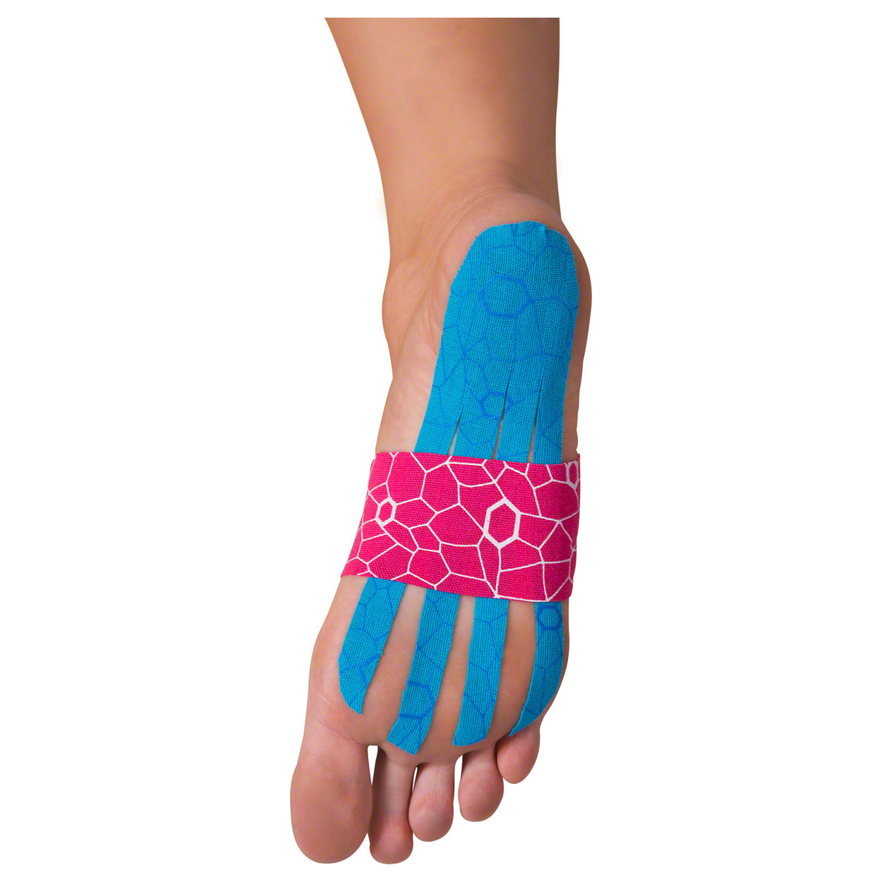 Kunden PH 2016: Thera-Band Kinesiology Tape XactStretch, 5 m x 5 cm, blau/blau
