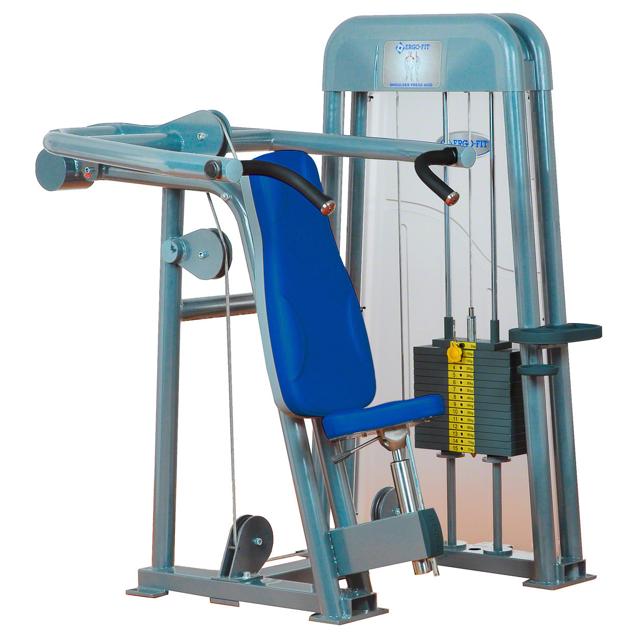 Kraftsportgeräte: ERGO-FIT Shoulder Press 4000