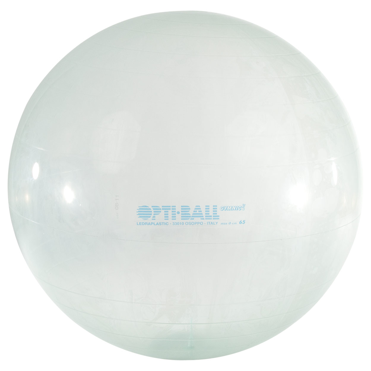 Gymnastik & Fitness: Opti-Ball Gymnastikball transparent, ø 65 cm