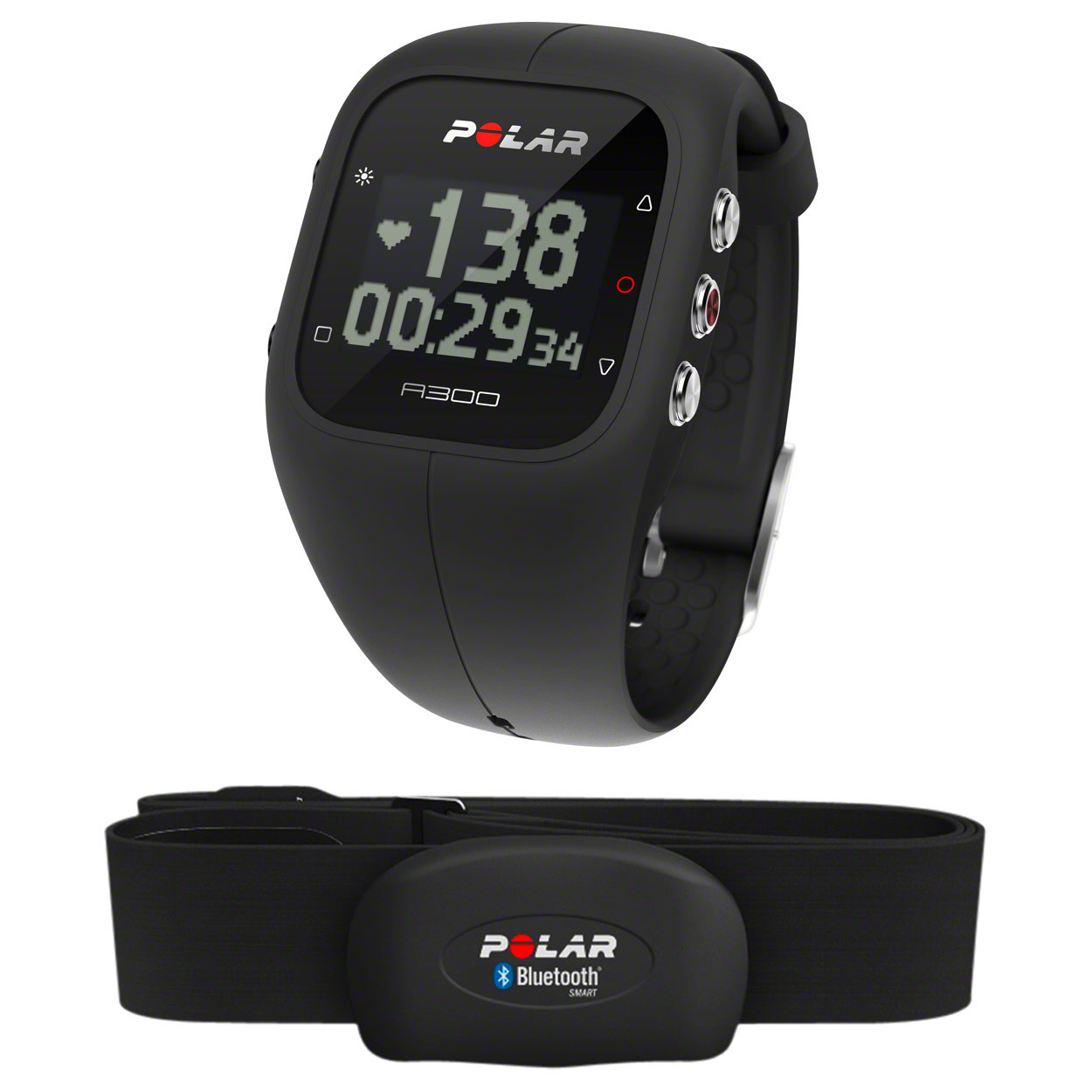 Fitnessgeräte: POLAR A300 HR Activity Tracker, inkl. Heart Rate Sensor