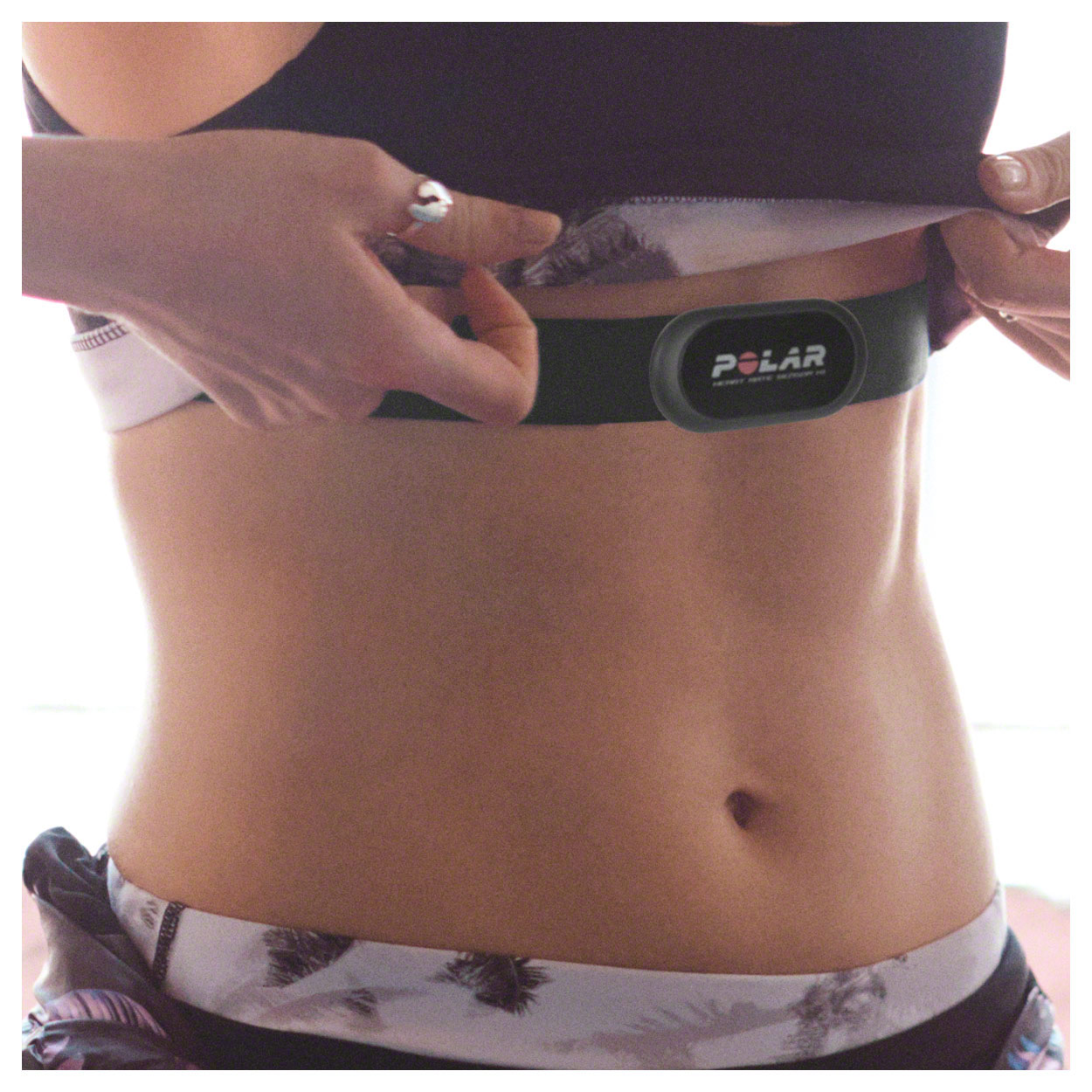 Fitnessgeräte: POLAR Heart Rate Sensor WearLink H1, Gr. XS-S, codiert