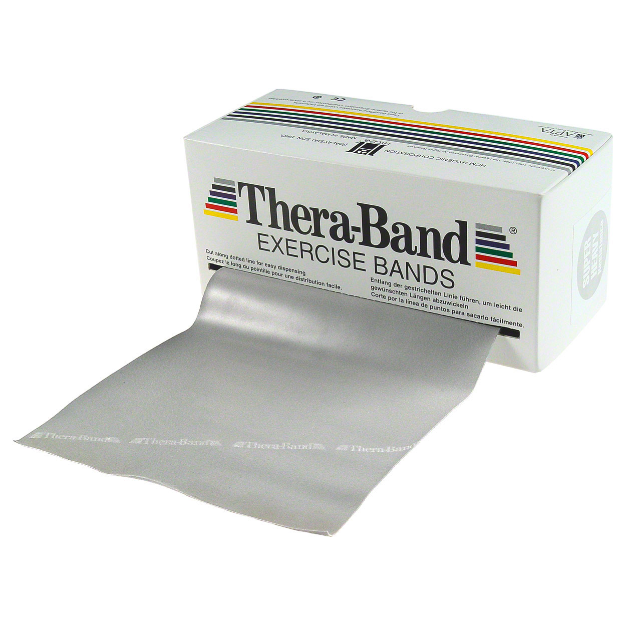 Kunden PH 2016: Thera-Band, 5,50 m x 12,8 cm, super stark, silber