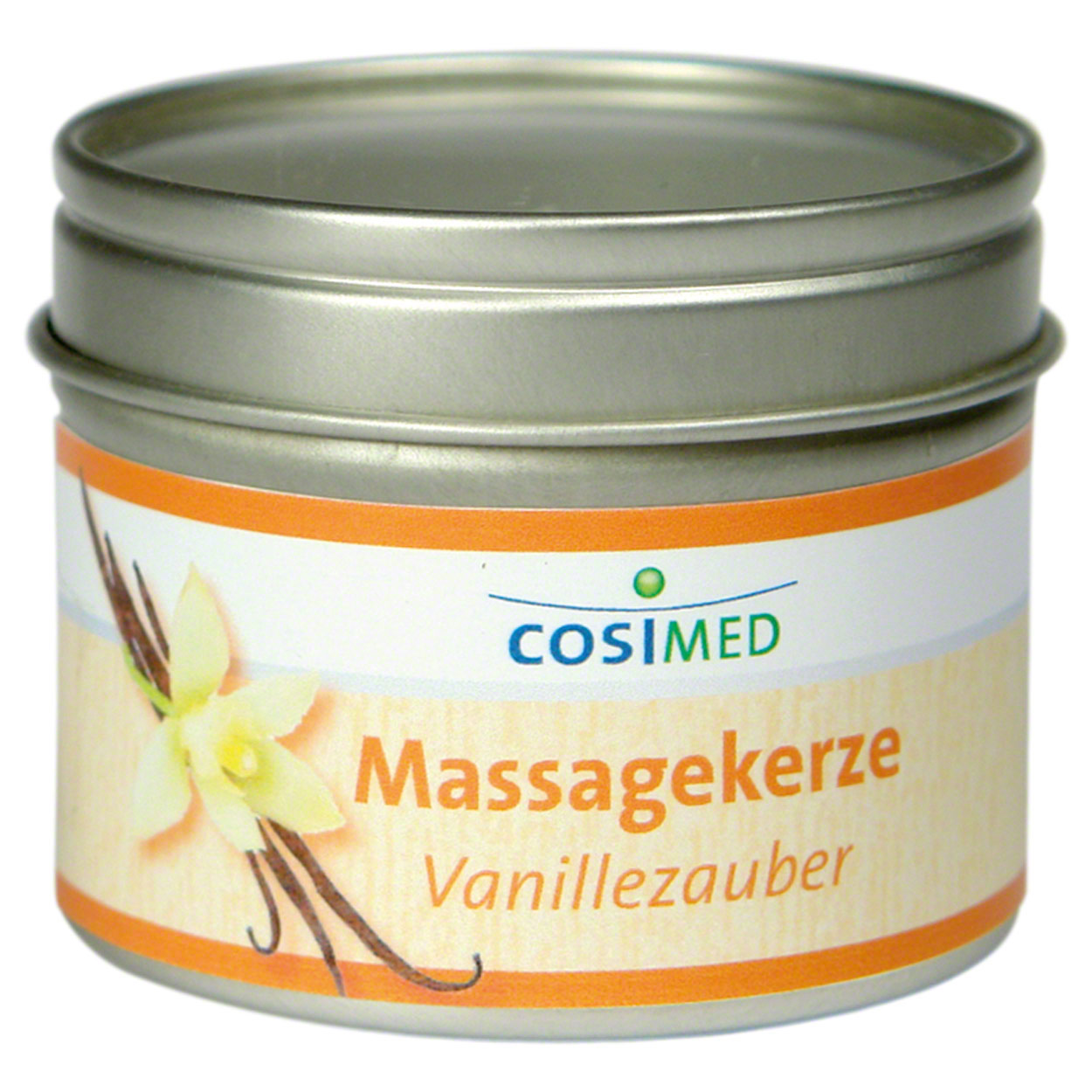 Therapiebedarf: cosiMed Massagekerze Vanillezauber, 92 g