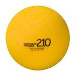Schaumstoffball - VOLLEY Schaumstoffball unbeschichtet, Ø 21 cm, gelb