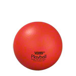 Schaumstoffball - VOLLEY Schaumstoffball mit Elefantenhaut, Ø 16 cm, rot