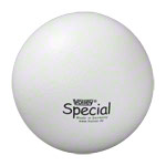 Sportball - VOLLEY Schaumstoffball mit Elefantenhaut, Ø 21 cm, weiß