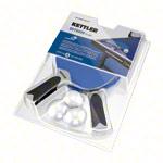 Kettler Tischtennis Zubehör - KETTLER Tischtennisschläger-Set Outdoor: 2 Tischtennisschläger + 3 Tischtennisbälle