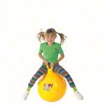 Hüpfball - Hüpfball, Ø 45 cm, gelb