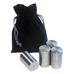 Gymnastikreifen - Zusatzgewichte für Powerhoop Deluxe, 4x70 g