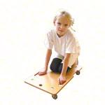 Kinder Rollbrett - Ergo-Rollbrett mit Griffmulden