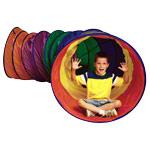 Fitness Gymnastik - Mega-Kriechtunnel, 6-farbig, ø 91 cm x 3,7 m