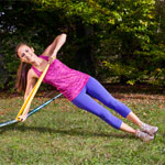 GIBBON Fitness Upgrade für Slackline