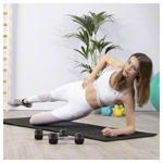 Fitnessmatte - TOGU Klappmatte Premium Easy, LxBxH 185x60x1 cm, anthrazit