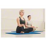 Yoga Matte - Pilates- und Yogamatte, LxBxH 140x60x0,6 cm, blau