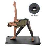 Yoga Matte - TUNTURI Fitnessmatte inkl. Tragetasche, antibakteriell, LxBxH 180x60x1,5 cm