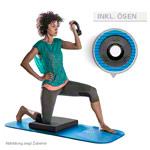 Airex Matte - AIREX Gymnastikmatte Fitness 120 inkl. Ösen, LxBxH 120x60x1,5 cm