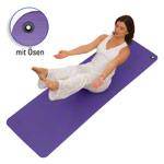 Yoga Matte - AIREX Pilates- und Yogamatte 190 inkl. Ösen, LxBxH 190x60x0,8 cm