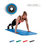 Airex Matte - AIREX Gymnastikmatte Coronella inkl. Ösen, LxBxH 185x60x1,5 cm