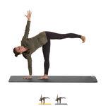 Matten - CALYANA Professional, Yoga Matte, LxBxH 185x66x0,68 cm, steingrau
