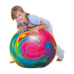 Gymnastikbälle - TOGU Gymnastikball Powerball ABS marble, Ø 45 cm, bunt