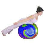 Powerball ABS - TOGU Gymnastikball Powerball ABS marble, Ø 55 cm, bunt