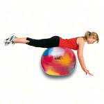 Powerball ABS - TOGU Gymnastikball Powerball ABS marble, Ø 75 cm, bunt