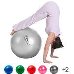 Powerball ABS - TOGU Gymnastikball Powerball ABS, Ø 55 cm, silber