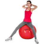 Pezzi Gymnastikball - PEZZI Gymnastikball, ø 75 cm, rot