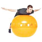 Pezzi Gymnastikball - PEZZI Gymnastikball, Ø 105 cm, gelb
