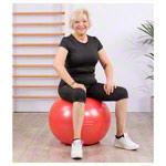 Sitzbälle - Sit'n Gym Sitzball, ø 55 cm, rot