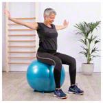 Sitzbälle - Sit'n Gym Sitzball, ø 65 cm, blau