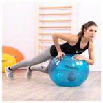 Gymnastikbälle - PEZZI Gymnastikball PendyBall, 4 kg Pendel, ø 75 cm, blau