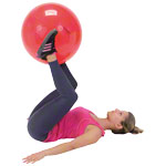Gymnic Gymnastikball - GYMNIC Gymnastikball, ø 55 cm, rot