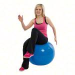 Gymnastikbälle - GYMNIC Gymnastikball, ø 65 cm, blau