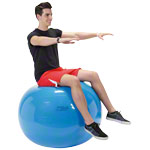 Gymnastikbälle - GYMNIC Gymnastikball, ø 95 cm, blau