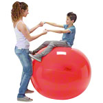 Gymnastikbälle - GYMNIC Gymnastikball, ø 120 cm, rot