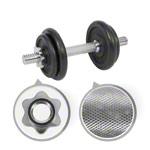 Krafttraining - Kurzhantel-Set, 10 kg
