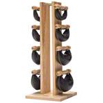 Fitnessbücher - NOHrD Swing Turm inkl. 8 Swing Hanteln, 26 kg, Esche