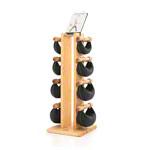 Fitnessbücher - NOHrD Swing Turm inkl. 8 Swing Hanteln, 40 kg, Esche