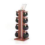 Fitnessbücher - NOHrD Swing Turm inkl. 8 Swing Hanteln, 40 kg, Club-Sport