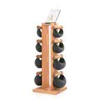 Fitnessbücher - NOHrD Swing Turm inkl. 8 Swing Hanteln, 26 kg, Eiche