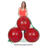 Ballnetz - Ballnetz für 3 Gymnastikbälle, grün