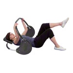 Bauchmuskeltrainer - TUNTURI Bauchtrainer Power Roller