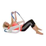 Kettler Rückentrainer - KETTLER Bauchtrainer Ab Roller, taubenblau-weiß