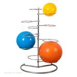 Gymnastikbälle - Gymnastikballständer für 10 Bälle
